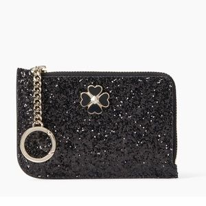 Kate Spade Glittery Key and Cardholder